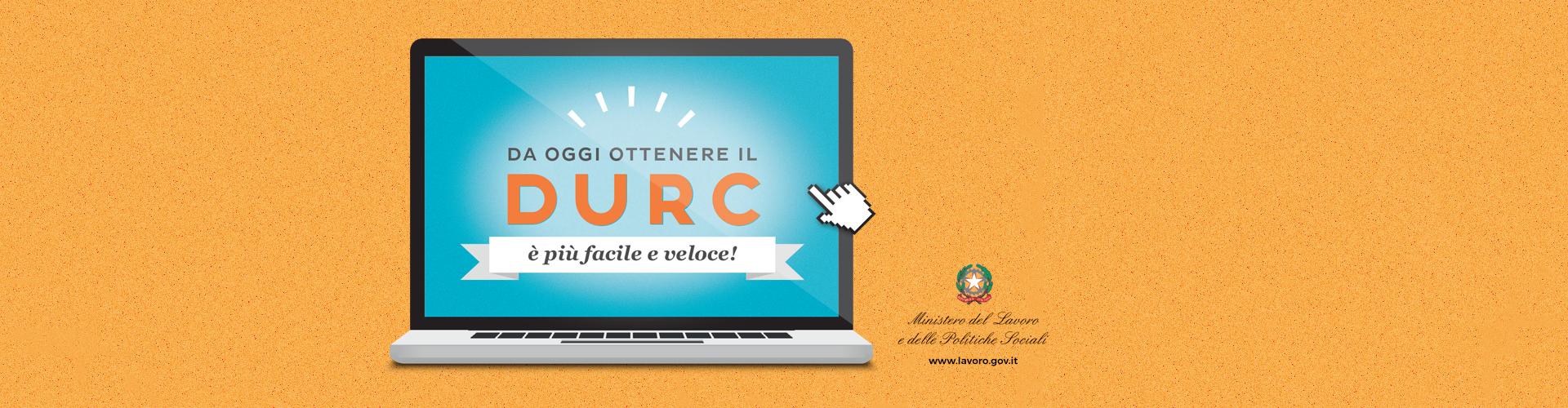 Accedi al nuovo DURC online